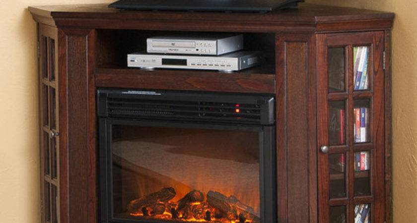 Bismark Stand Electric Fireplace Modern