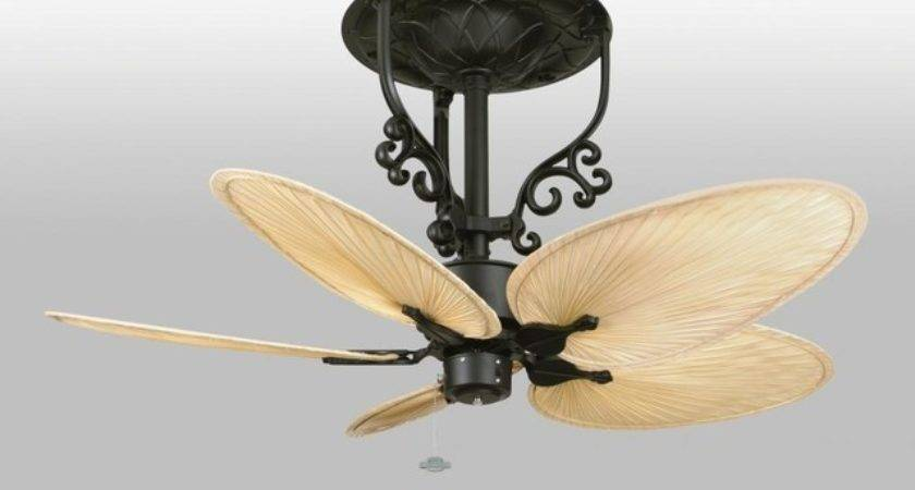 Black Fan Motor Without Blades Transitional Ceiling