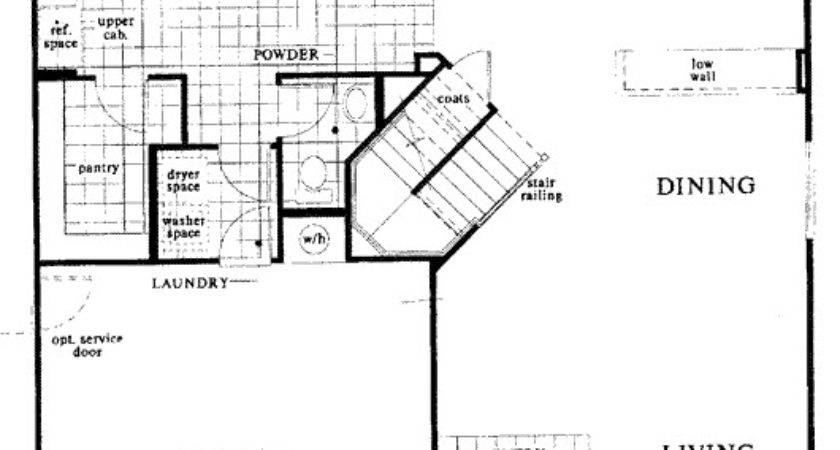 Black Horse Ranch Floor Plan Home Model Down Stairs