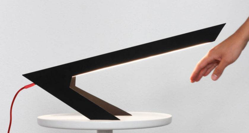 Blackbird Lamp Looks Like Abstract Bird Perched Two