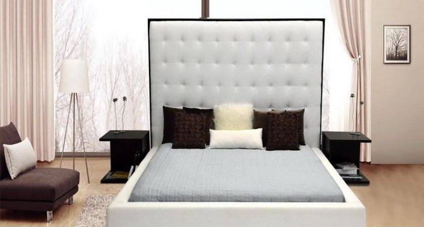 Bloombety High Headboards Beds