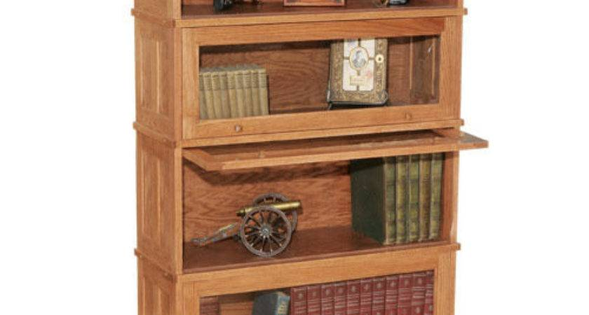 Bookcases Mission Style Used Barrister Bookcase