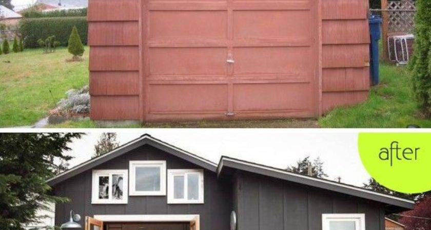 Boring Garage Turned Into Fancy Small Home Seattle