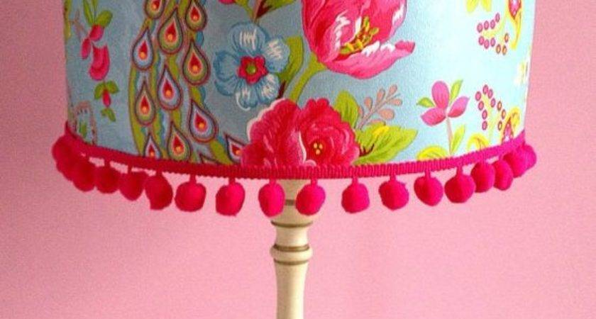 Brandnew Colorful Floral Lamp Shades Design Ideas