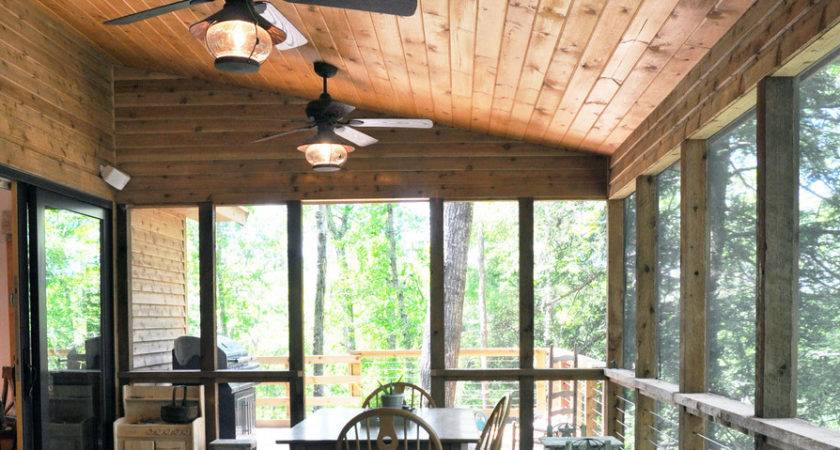 Breathtaking Rustic Ceiling Fans Lights Decorating