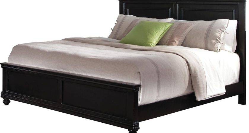 Bridgeport Queen Bed Black Brick