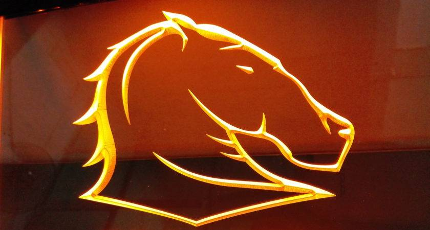 Brisbane Broncos Led Neon Sign Colors Shipping