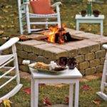 Build Dig Sunken Fire Pit Design Ideas