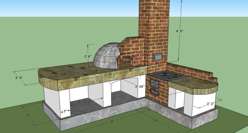 Building Plans Outdoor Kitchens House