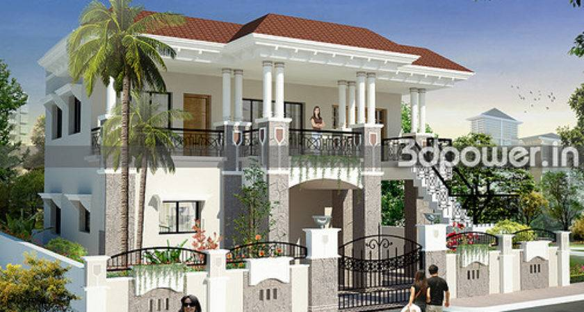 Bungalow Dpower Roof Modeling India