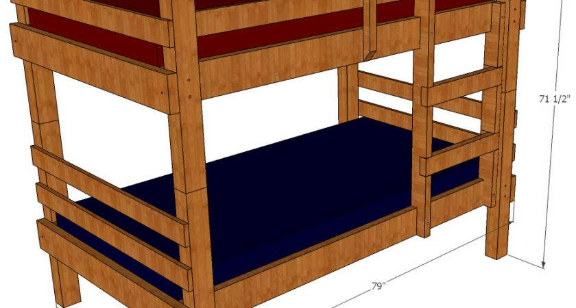 Bunk Bed Plans Save Money Space Building Your Own