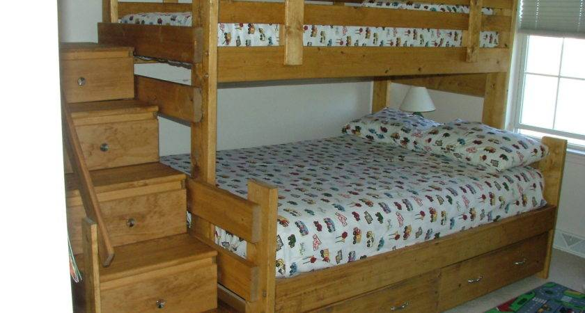 Bunk Bed Plans Stairs Woodworktips