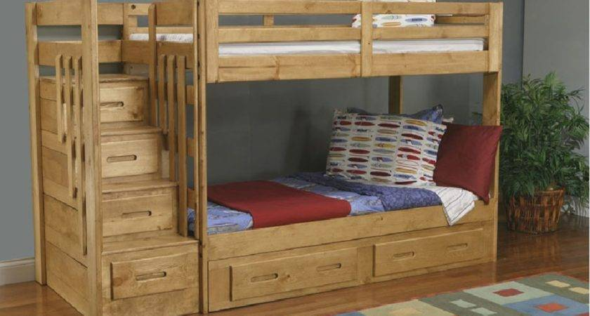 Bunk Bed Stairs Plans Diy Blueprints