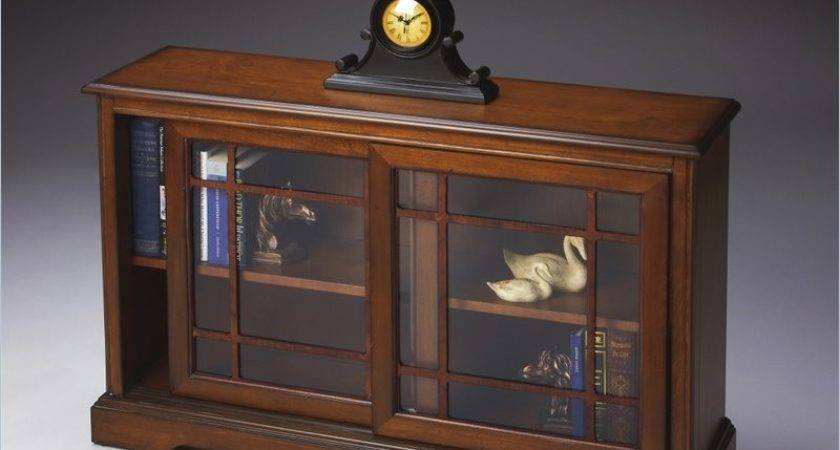Butler Specialty Bookcase Antique Cherry Console Table Ebay