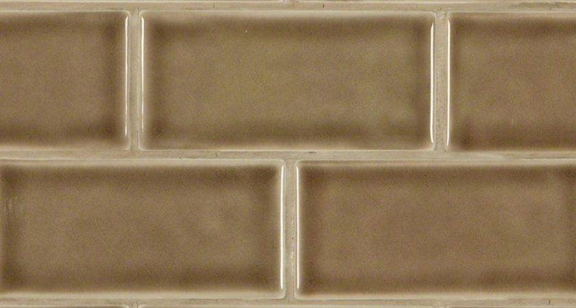 Buy Artisan Taupe Glazed Handcrafted Subway Tile