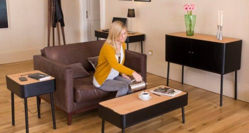 Buy Stil Scandinavian Multi Black Coffee Table