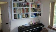 Cabinets Shelving Hanging Wall Mounted Bookcase