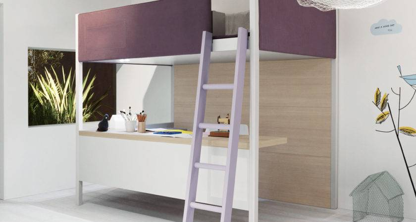 Camelot Soft Loft Bed Modern Beds