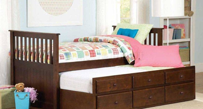 Can Twin Bed Trundle Help Save Space Money