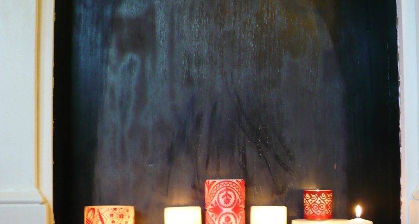 Candle Set Fireplace Easy Ways Decorate