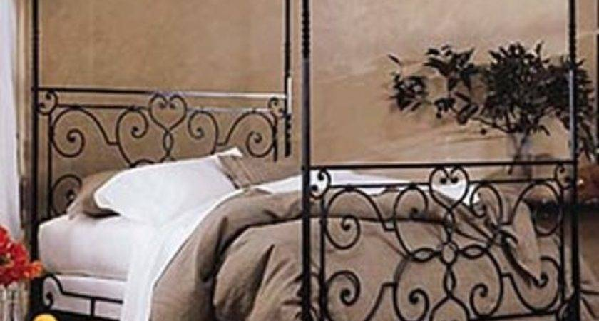 Canopies Wrought Iron Canopy Bed