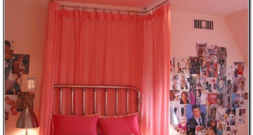 Canopy Bed Curtains Girls Beds Home Design Ideas