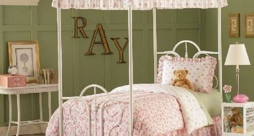 Canopy Bed Curtains Girls Home Design Ideas