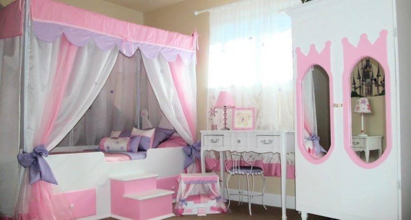 Canopy Bed Curtains Girls House Design Best