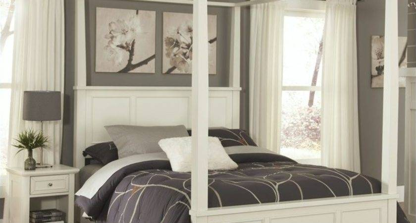 Canopy Bed White