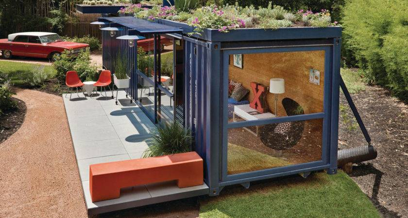 Cargo Containers Transformed Into Beautiful Houses