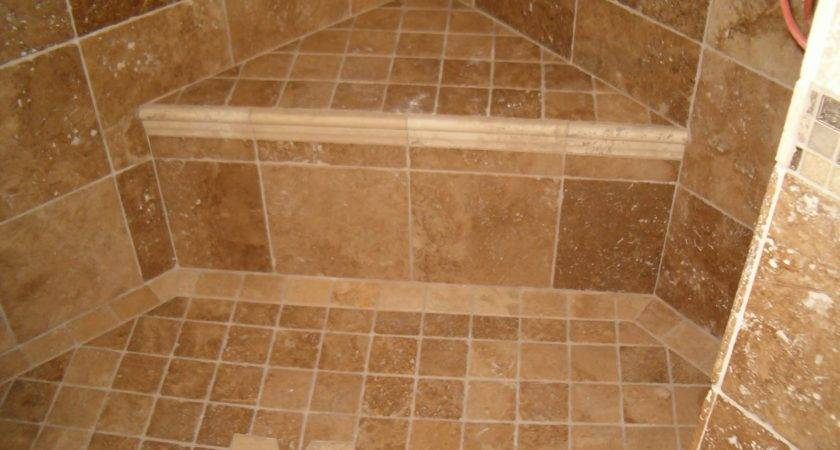 Ceramic Tile Bathroom Showers Digihome Also Ideas