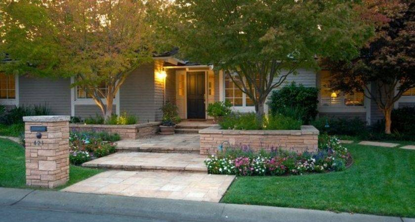 Cheap Front Yard Landscaping Ideas Erikhansen Info