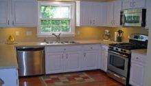 Cheap Shaped Kitchen Remodel Design