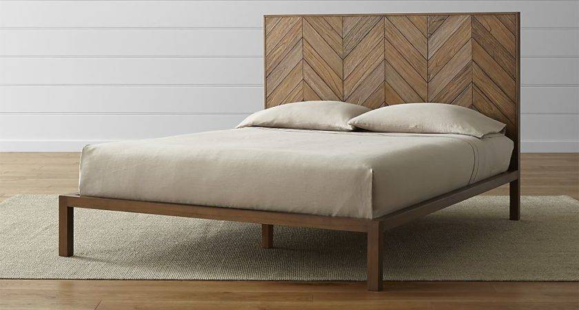 Chevron Bed Crate Barrel