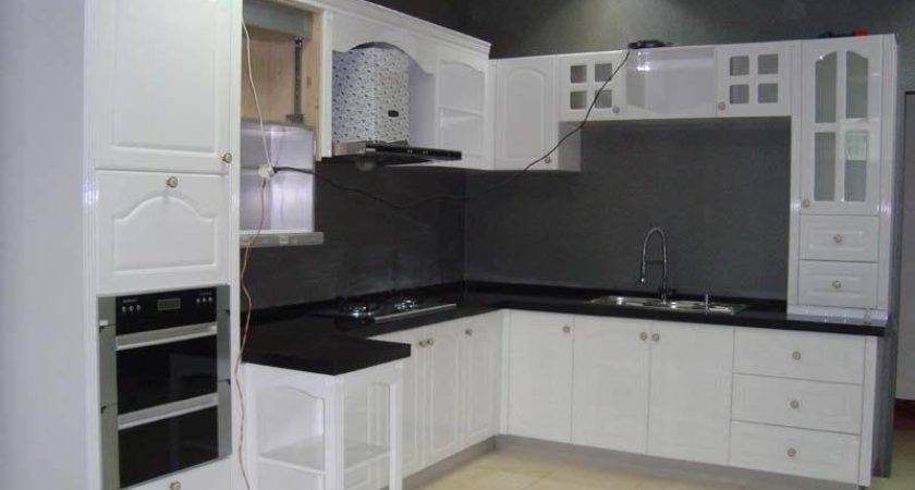 China White Lacquer Kitchen Cabinets Design Matt