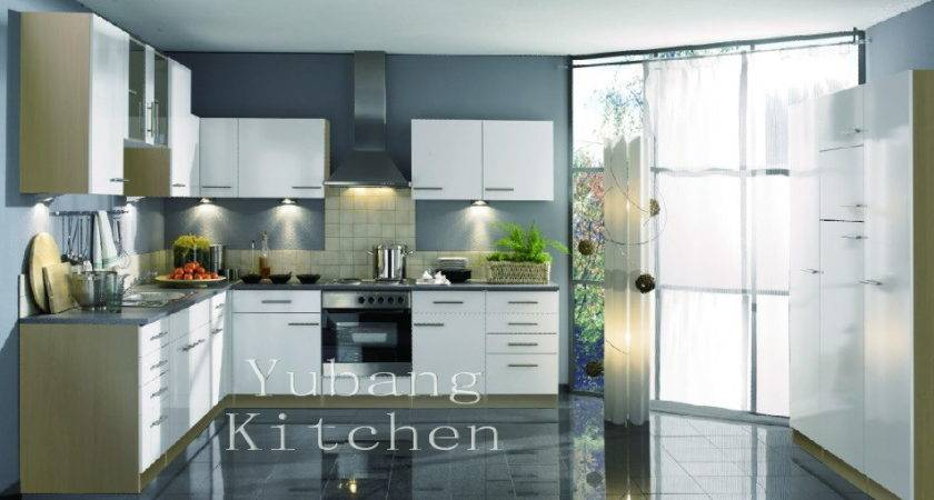China White Lacquer Kitchen Cabinets Photos