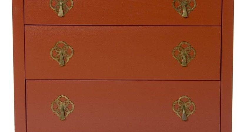 Chinese Red Small Dresser Stdibs