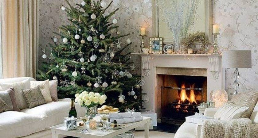 Christmas Living Room Decorating Ideas