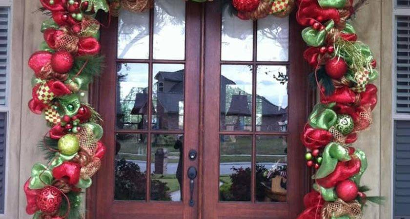 Christmas Outdoor Decorating Ideas Decoration