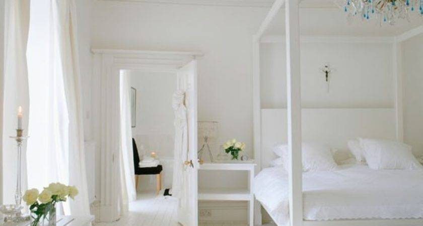 Chunky White Four Poster Bed Celia Rufey Bedroom