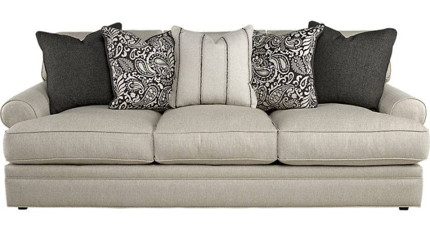 Cindy Crawford Home Lincoln Square Beige Sofa Sofas