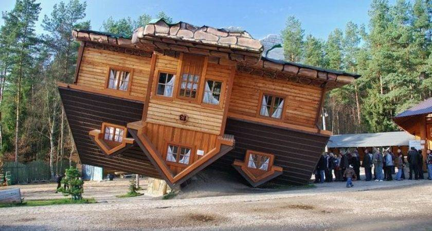 Civil Fire Upside Down House Shimbark Poland