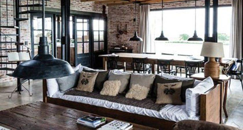 Clever Modern Rustic Upcycled Designs Warehouse Home