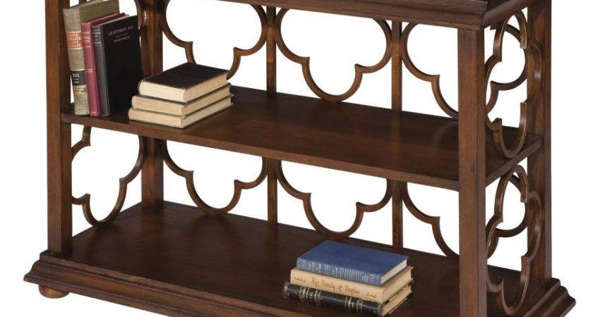 Clockway Hekman Console Table Bookcase Chk