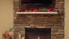 Cobblestone Fireplace Great Nap