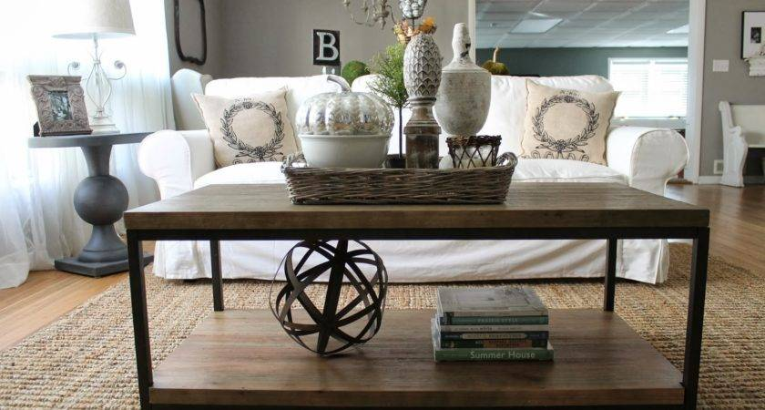 Coffee Table Styling Modern Rustic Style Pinterest
