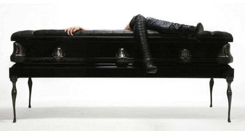 Coffin Couches Sofas Made Recycled Caskets Put