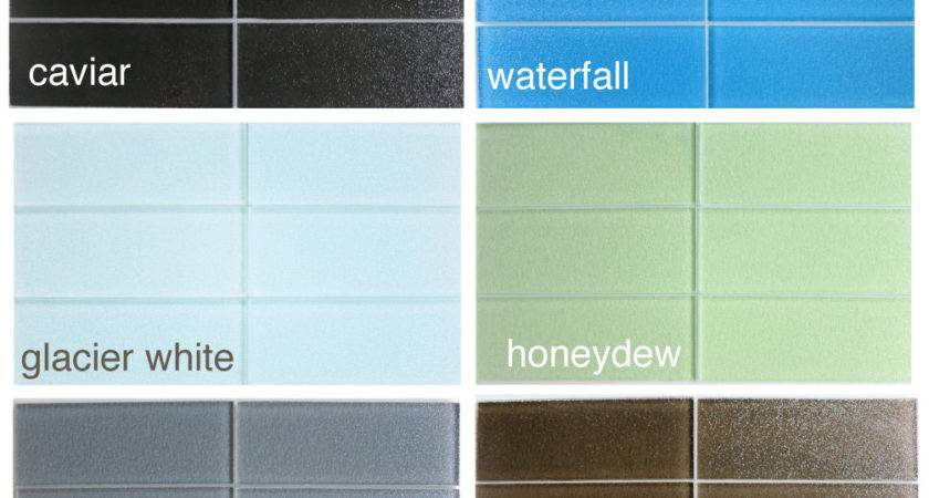 Colored Subway Tile