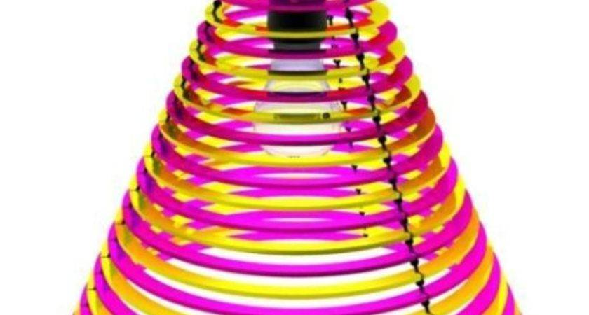 Colorful Cool Lampshades Cmyk Design