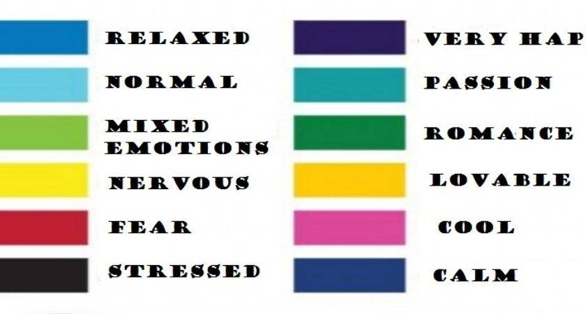 Colors Affect Mood Excellent Few Fascinating Facts